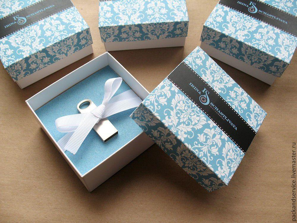 Как красиво упаковать флешку в подарок 89