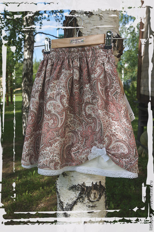 Общий вид юбки
