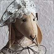 Куклы и игрушки ручной работы. Ярмарка Мастеров - ручная работа Овечка Кофейница. Handmade.