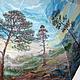 """Зонты ручной работы. Ярмарка Мастеров - ручная работа. Купить Зонт с рисунком """"Моя Карелия"""" ручная роспись в подарок. Handmade."""