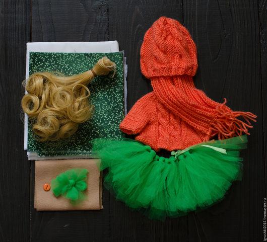 Набор для самостоятельного пошива куклы тыквоголовки!