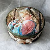 Для дома и интерьера handmade. Livemaster - original item Box-bomboniere