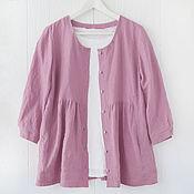 Одежда handmade. Livemaster - original item Blouse-jacket in the style of boho. Handmade.