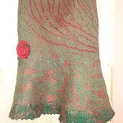 Одежда ручной работы. Ярмарка Мастеров - ручная работа Юбка двухсторонняя Розочка. Handmade.