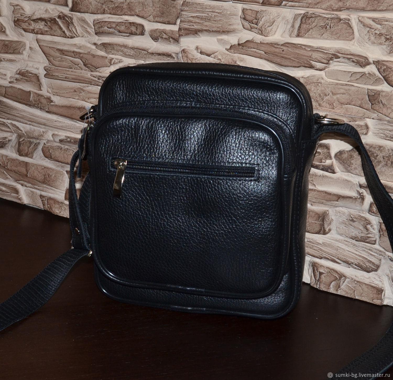 818008306de54 Men's Bags handmade. Livemaster - handmade. Buy Men's genuine leather bag -  model 111 ...