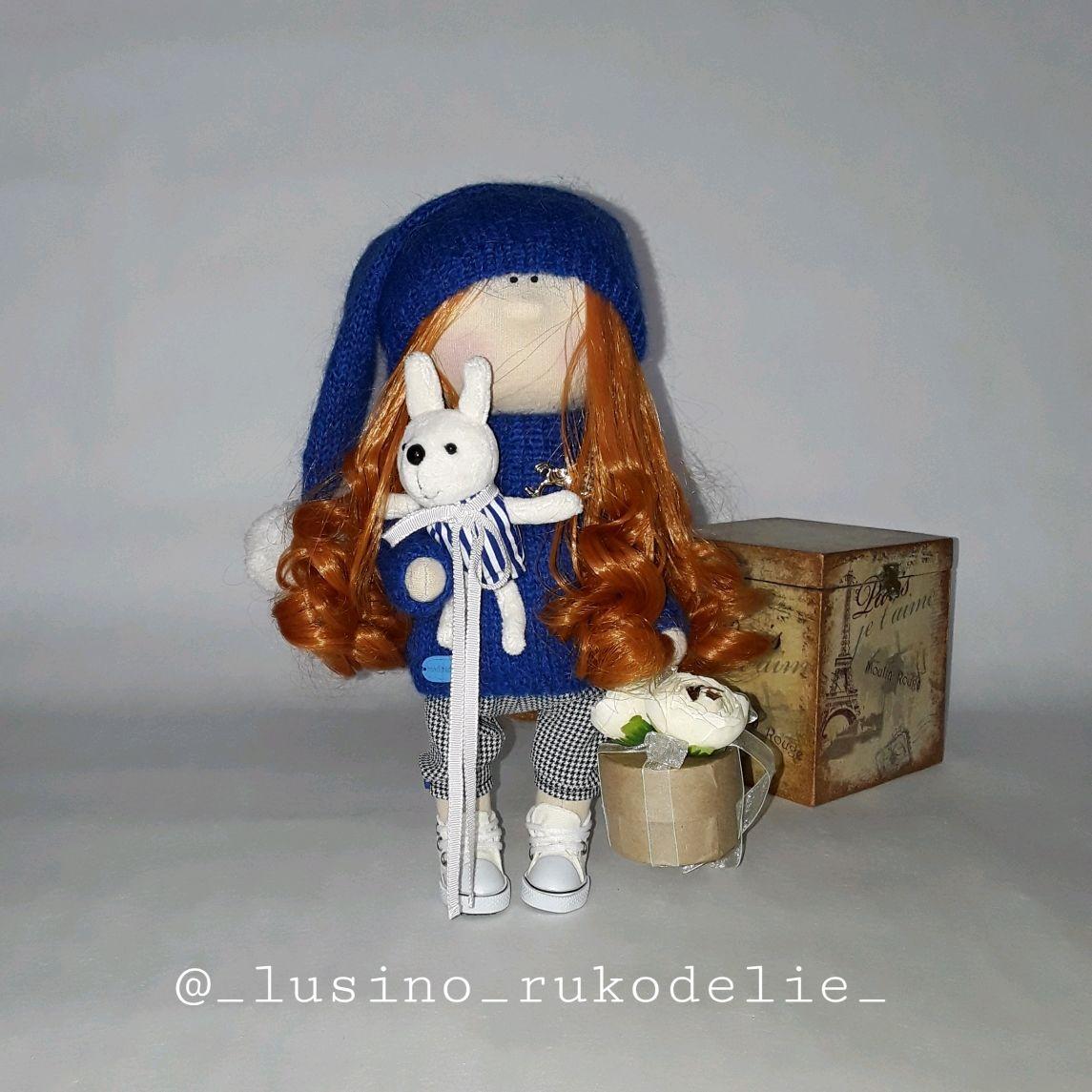 Интерьерная кукла Тыквоголовка, Тыквоголовка, Москва,  Фото №1