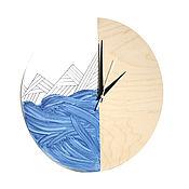 Для дома и интерьера ручной работы. Ярмарка Мастеров - ручная работа Часы настенные из дерева Сиггу. Часы ручной работы. Handmade.