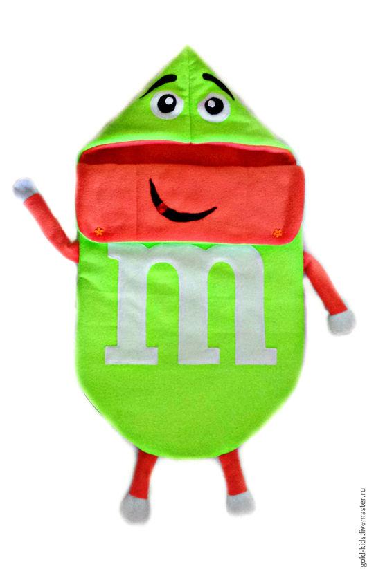 """Для новорожденных, ручной работы. Ярмарка Мастеров - ручная работа. Купить Конверт на выписку """"M & M"""". Handmade. Салатовый"""