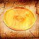 Тарелки ручной работы. Ярмарка Мастеров - ручная работа. Купить Деревянная тарелка 29см, блюдо из сибирского кедра - ручная работа. Handmade.