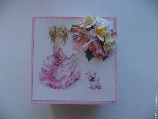 Подарки для новорожденных, ручной работы. Ярмарка Мастеров - ручная работа. Купить МАМИНЫ СОКРОВИЩА-магик бокс для девочки. Handmade. Розовый