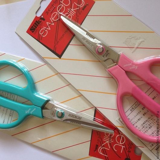 Другие виды рукоделия ручной работы. Ярмарка Мастеров - ручная работа. Купить Японские ножницы( с кусачками). Handmade. Розовый