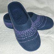 """Обувь ручной работы. Ярмарка Мастеров - ручная работа Тапочки валяные """"Нина"""". Handmade."""