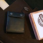 """Кошельки ручной работы. Ярмарка Мастеров - ручная работа Портмоне """"Double bill"""". Handmade."""