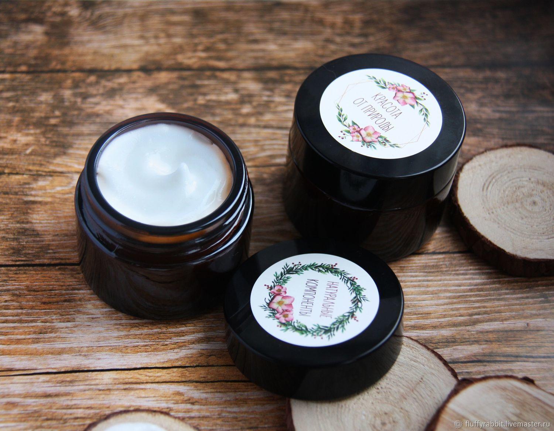 Cream, Gel & Serum handmade. Livemaster - handmade. Buy A nourishing night cream for face with hyaluronic acid.