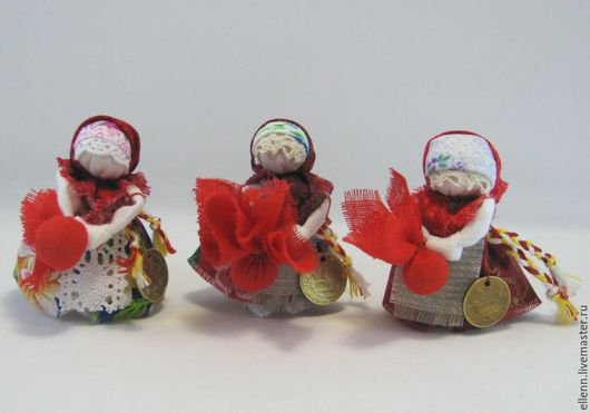 """Народные куклы ручной работы. Ярмарка Мастеров - ручная работа. Купить """"Подорожница"""" народная кукла-оберег. Handmade. Подорожница, кружево"""