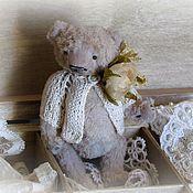 Куклы и игрушки ручной работы. Ярмарка Мастеров - ручная работа Наладошечный миша. Handmade.