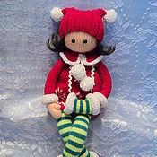Куклы и игрушки ручной работы. Ярмарка Мастеров - ручная работа кукла- длинноножка Алина. Handmade.