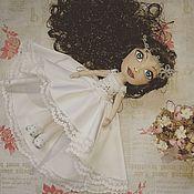 Куклы и игрушки ручной работы. Ярмарка Мастеров - ручная работа Куколка - кокетка. Handmade.