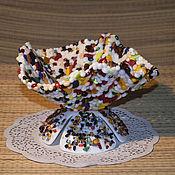 """Посуда ручной работы. Ярмарка Мастеров - ручная работа Вазочка """"Монпансье"""". Handmade."""