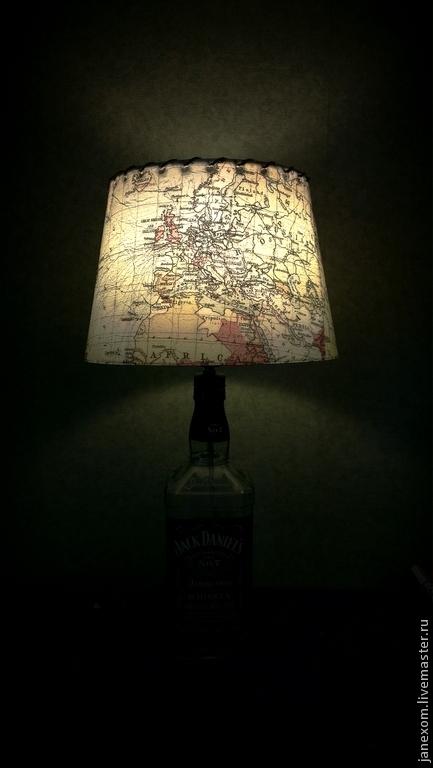 Подарки для мужчин, ручной работы. Ярмарка Мастеров - ручная работа. Купить Jack Daniel's. Handmade. Виски, из бутылки виски, прозрачный
