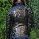 Верхняя одежда ручной работы. Куртка из питона. BLOOM. Ярмарка Мастеров. Куртка кожаная