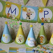 Подарки к праздникам ручной работы. Ярмарка Мастеров - ручная работа оформление дня рождения по мультфильму Tiny Love (Тини Лав). Handmade.