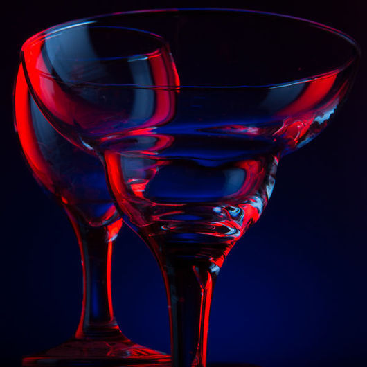 Фотокартины ручной работы. Ярмарка Мастеров - ручная работа. Купить Синее и Красное №2. Handmade. Фотография, стекло, синий, красный