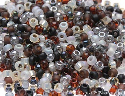10g Miyuki 11/0 mix 13 pebbles round Japanese seed beads, Beads, Chelyabinsk,  Фото №1