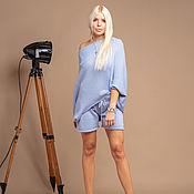 Одежда handmade. Livemaster - original item Blue suit with shorts. Handmade.