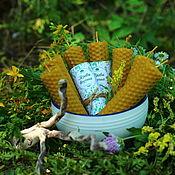 Фен-шуй и эзотерика handmade. Livemaster - original item Candle-activator: Candles Herbs Of The Witch. Handmade.