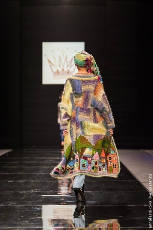 """Верхняя одежда ручной работы. Ярмарка Мастеров - ручная работа. Купить Волшебное пальто """"Выйду за околицу..."""". Handmade."""
