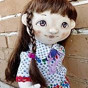Куклы и игрушки ручной работы. Ярмарка Мастеров - ручная работа текстильная кукла, пупс, Галя. Handmade.