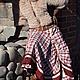 """Юбки ручной работы. Юбка """"Сангрия"""" длинная стиль бохо кантри прованс винтаж. Наталья Лелякова. Интернет-магазин Ярмарка Мастеров."""