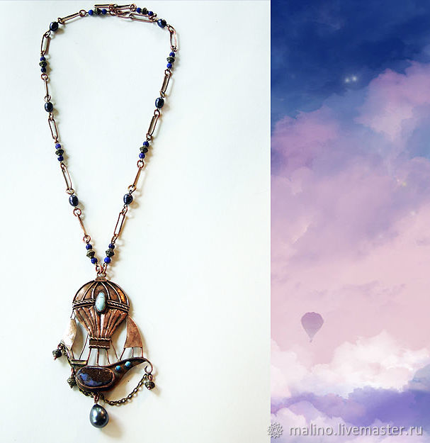 Airship Necklace', Necklace, Ekaterinburg,  Фото №1