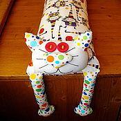 """Сувениры и подарки ручной работы. Ярмарка Мастеров - ручная работа Игрушка-подушка """"Радужный кот"""" ведьмочки. Handmade."""