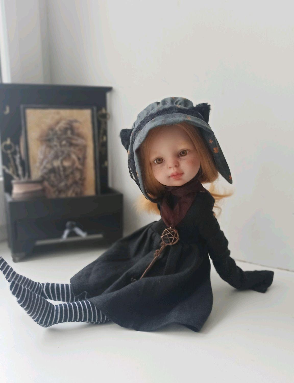 Окафа - маленькая ведьма. Кукла, Кастом, Димитровград,  Фото №1