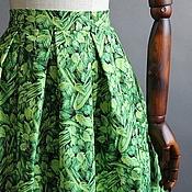 Одежда ручной работы. Ярмарка Мастеров - ручная работа юбка с сельдереем. Handmade.