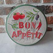 """Для дома и интерьера ручной работы. Ярмарка Мастеров - ручная работа Панно  """" Bon appetit"""". Handmade."""