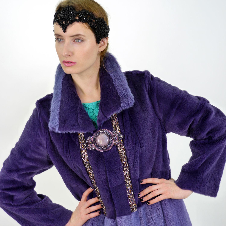 Меховое пальто своими руками фото 786