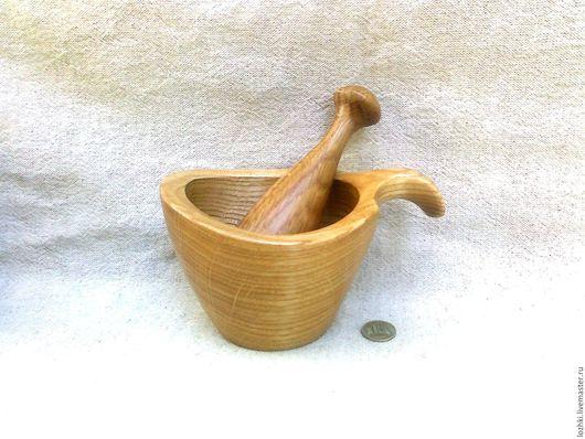 Кухня ручной работы. Ярмарка Мастеров - ручная работа. Купить ступка для специй, трав, орехов и пр.. Handmade. Комбинированный
