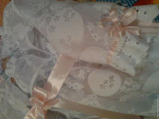 крестильное платье- сорочка `Белоснежность` .платье для новорожденного. платье для крестин. батист.свежесть.нежность. авторская работа.
