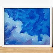 Картины и панно handmade. Livemaster - original item Painting: landscape oil painting