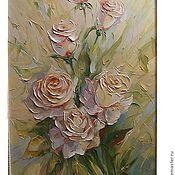 Pictures handmade. Livemaster - original item A rose in the garden. Handmade.