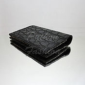 Канцелярские товары handmade. Livemaster - original item Passport cover crocodile VIP. Handmade.