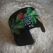 """Браслет из бусин ручной работы. Ярмарка Мастеров - ручная работа Винтажный браслет с вышивкой """"Цветение роз"""". Handmade."""
