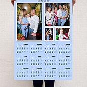 Дизайн и реклама ручной работы. Ярмарка Мастеров - ручная работа Фотокалендарь ( календарь с фото). Handmade.