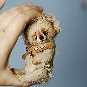 Куклы и игрушки ручной работы. Ярмарка Мастеров - ручная работа Hedgehog Albert. Ежик Альберт, почти Эйнштейн. друг тедди.. Handmade.