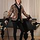 """Верхняя одежда ручной работы. Ярмарка Мастеров - ручная работа. Купить Куртка """"Тайна сердца"""" с искусственным мехом  под норку. Handmade."""
