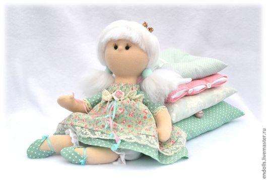 Коллекционные куклы ручной работы. Ярмарка Мастеров - ручная работа. Купить МЯТушка. Handmade. Мятный, принцеска, подарок на день рождения