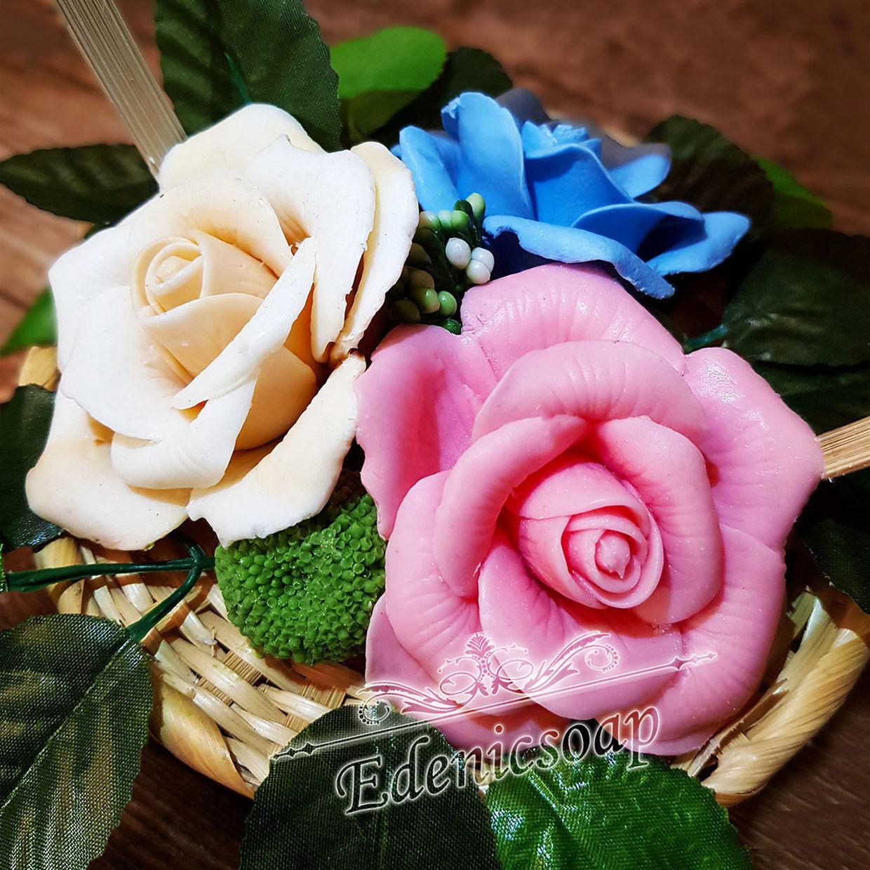 Soaps handmade. Livemaster - handmade. Buy 'Flower arrangement' soap handmade interior decoration bouquet.Gift set